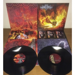 Nokturnal Mortum - The Voice of Steel Black Galaxy Vinyl