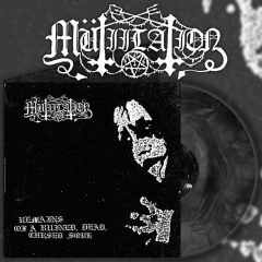 Mutiilation - Remains of a Ruined, Dead, Cursed Soul Black Galaxy Vinyl