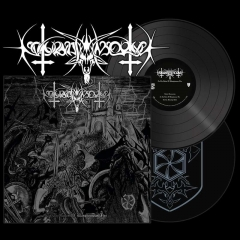 NOKTURNAL MORTUM - To The Gates of Blasphemous Fire Black Vinyl