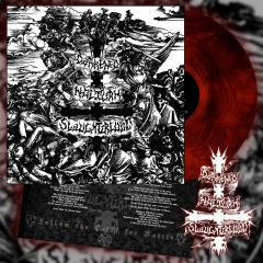 DARKENED NOCTURN SLAUGHTERCULT - Follow The Call For Battle Vinyl Red