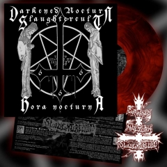 DARKENED NOCTURN SLAUGHTERCULT - Hora Nocturna Red Galaxy Vinyl
