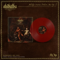 Shibalba - Nekrologie Sinistrae Red Vinyl