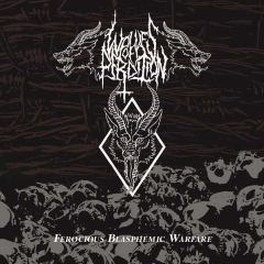 Wolves of Perdition - Ferocious Blasphemic Warfare CD