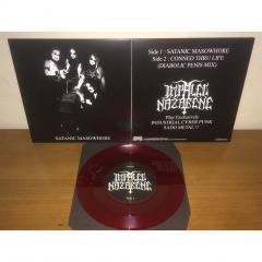 Impaled Nazarene - Satanic Masowhore Bloodred 7 Vinyl