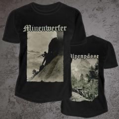 MINENWERFER - Alpenpässe 2021 T-Shirt Size L