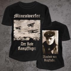 MINENWERFER Der Rote Kampfflieger T-Shirt Size L