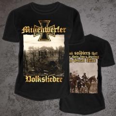 MINENWERFER - Volkslieder T-Shirt Size L