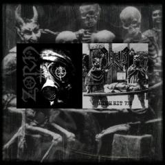 Zorn/ NG – Split 7″ (amber vinyl)