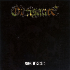 Obeisance - 666 War CD