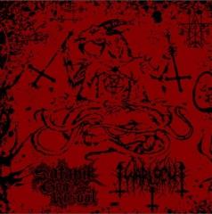 Satanik Goat Ritual/Warlock666 Split CD